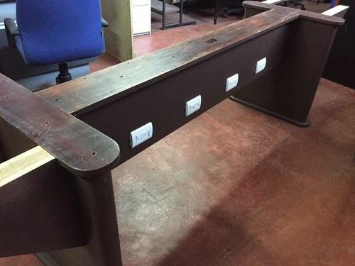 mesa sesiones de madera p/12 personas