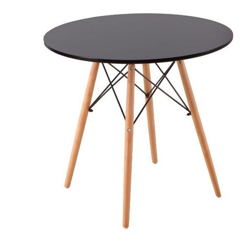 mesa shangai  estilo eams moderno minimalista redonda