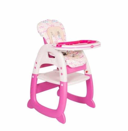 mesa silla comedor escritorio dos en uno para bebés