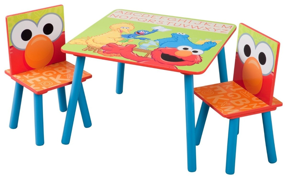 Mesa sillas infantiles plaza sesamo madera pm0 2 099 - Sillas infantiles ...