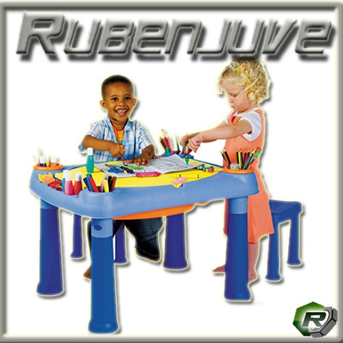 mesa sillas juguetes
