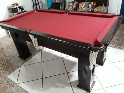 mesa snooker semi nova