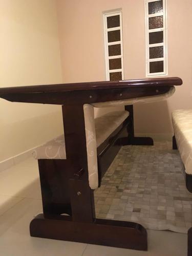 mesa sofá 2 em 1 para churrasco super versátil