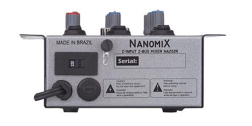 mesa som audio canais