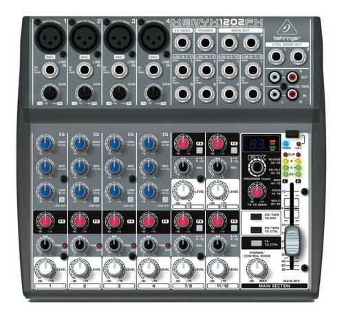 mesa  som behringer xenyx 1202fx 1202 efeitos 110v transform