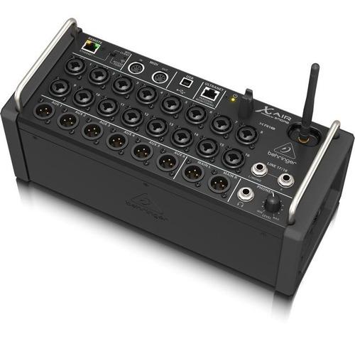 mesa som behringer xr18 mixer digital 18 canais xr 18air usb