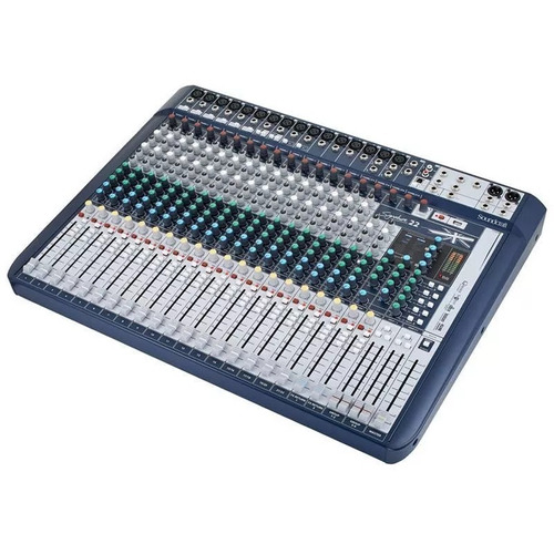 mesa som soundcraft canais
