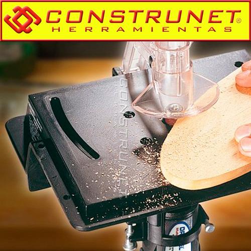 mesa soporte p/ fresar dremel 231 fresadora router minitorno