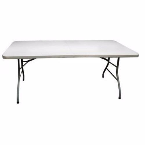 Mesa tabl n tipo malet n pl stico x 75 1 for Mesa plegable maletin