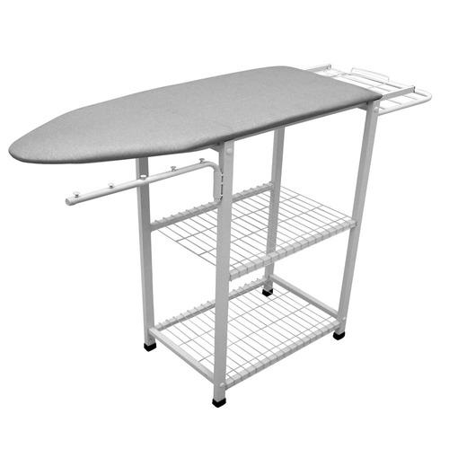 mesa tabua de passar roupas multi completa com tampo em aço