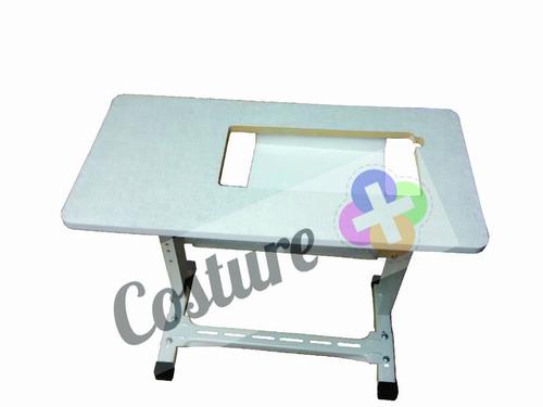 mesa tampo bancada movel gabinete maquina singer bella