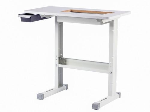 mesa tampo bancada movel máquina elgin super zigzag