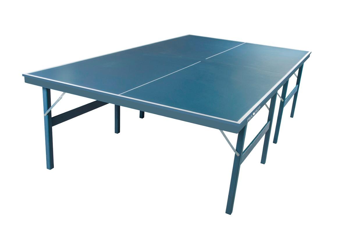 Mesa Tenis De Mesa   Ping Pong Procopio 18mm Mdp + Kit Comp - R  498 ... eac662fe167e6