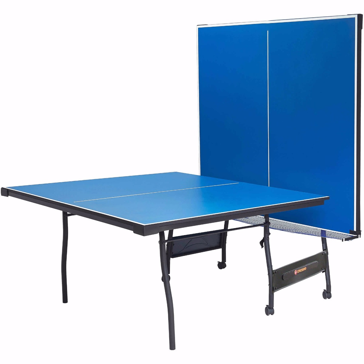 Mesa ping pong 15 mm plegable b415 serimobil tenis de for Mesa tenis de mesa