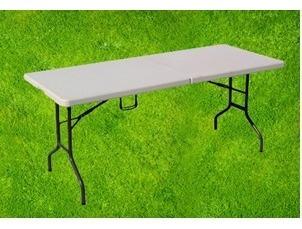 mesa tipo banquetes - plegable