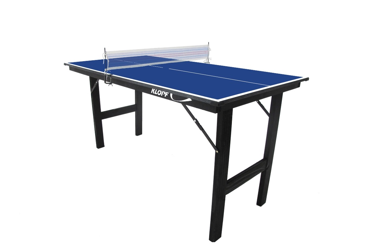 1de73aa12 mesa tênis mesa ping pong jr 12mm pés dobráveis klopf 1003. Carregando zoom.
