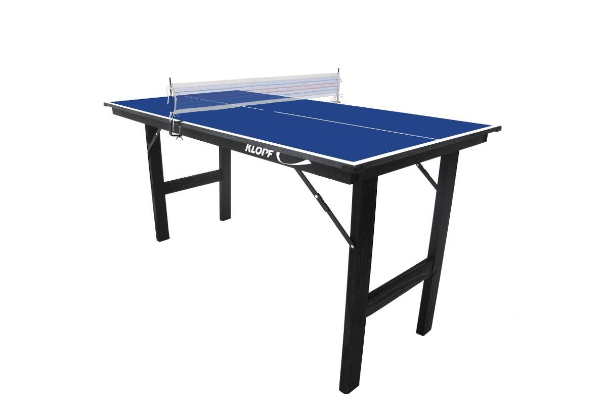 80b742064ebdb mesa tênis mesa ping pong jr 12mm pés dobráveis klopf 1003. Carregando zoom.