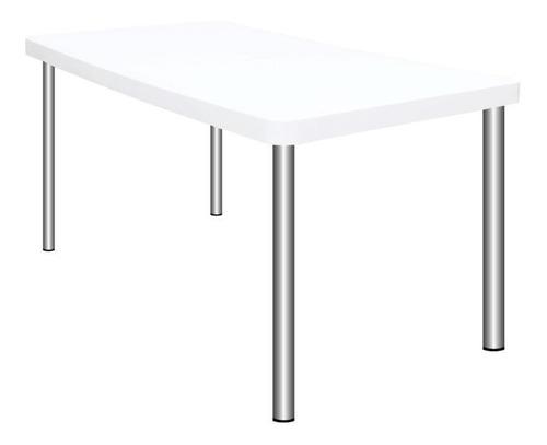 mesa tokio plástica patas caño garden + envió sin cargo caba