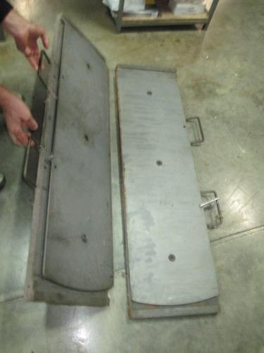 mesa traseira do alinhador
