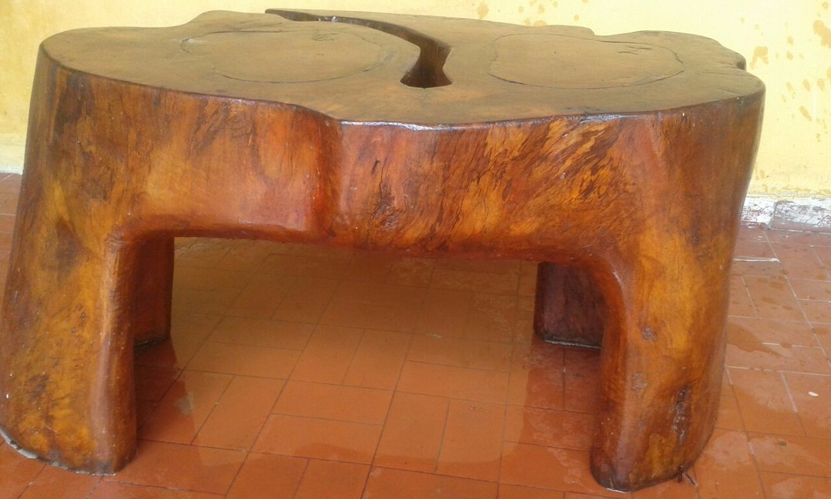 Mesa tronco de rvore r em mercado livre for Mesa de tronco