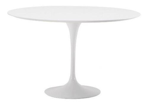 mesa tulip blanca - diseño saarinen