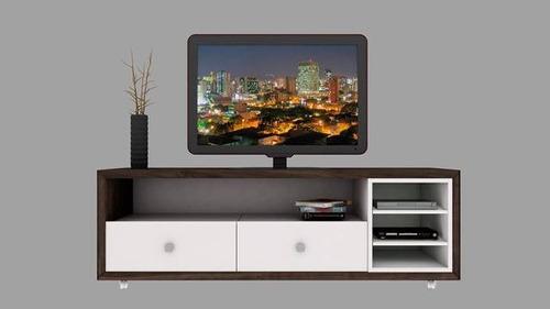 mesa tv lcd led rack living cajon mueble moderno modulo