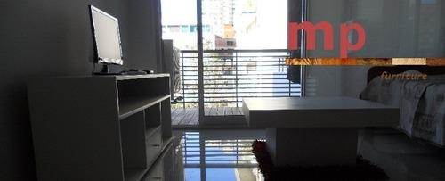 mesa tv lcd moderna rack cajon caracol minimalista laqueado