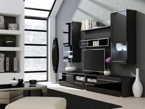 mesa tv lcd rack panel tv led smart moderno oferta solo xhoy