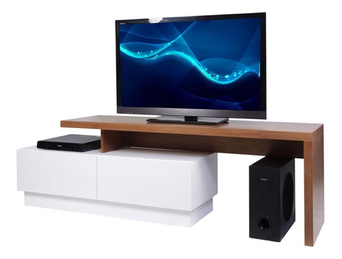 mesa tv modular moderno madera forbidan muebles