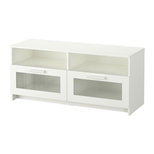 mesa tv pantalla minimalista ikea brimnes