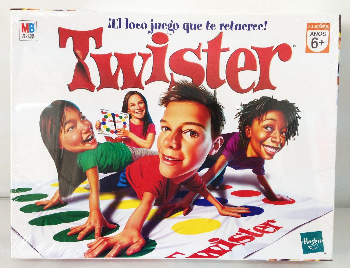Juego De Mesa Twister Original Hasbro 1 169 00 En Mercado Libre
