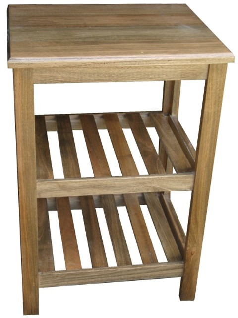 Mueble Madera Baño | Mesa Vanitory 60 Con Tapa Madera Maciza Bacha Banos Muebles