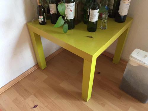 mesa verde limón ikea