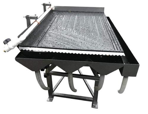 mesa vibradora para separar oro fino - shaking gold table