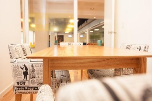 mesa vintage 200 x 100  madera paraiso escandinavo blvd