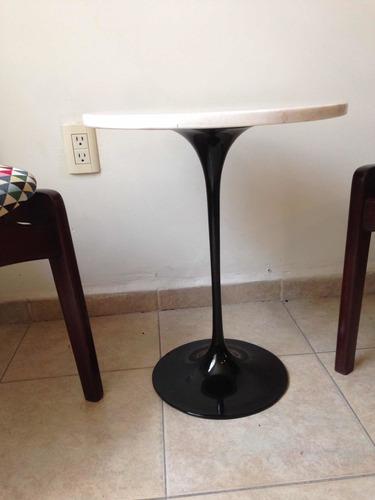 mesa vintage estilo tulip años 70's
