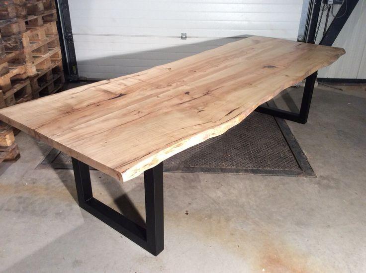Mesa y mes n r stico de madera nativa en for Bar rustico de madera nativa