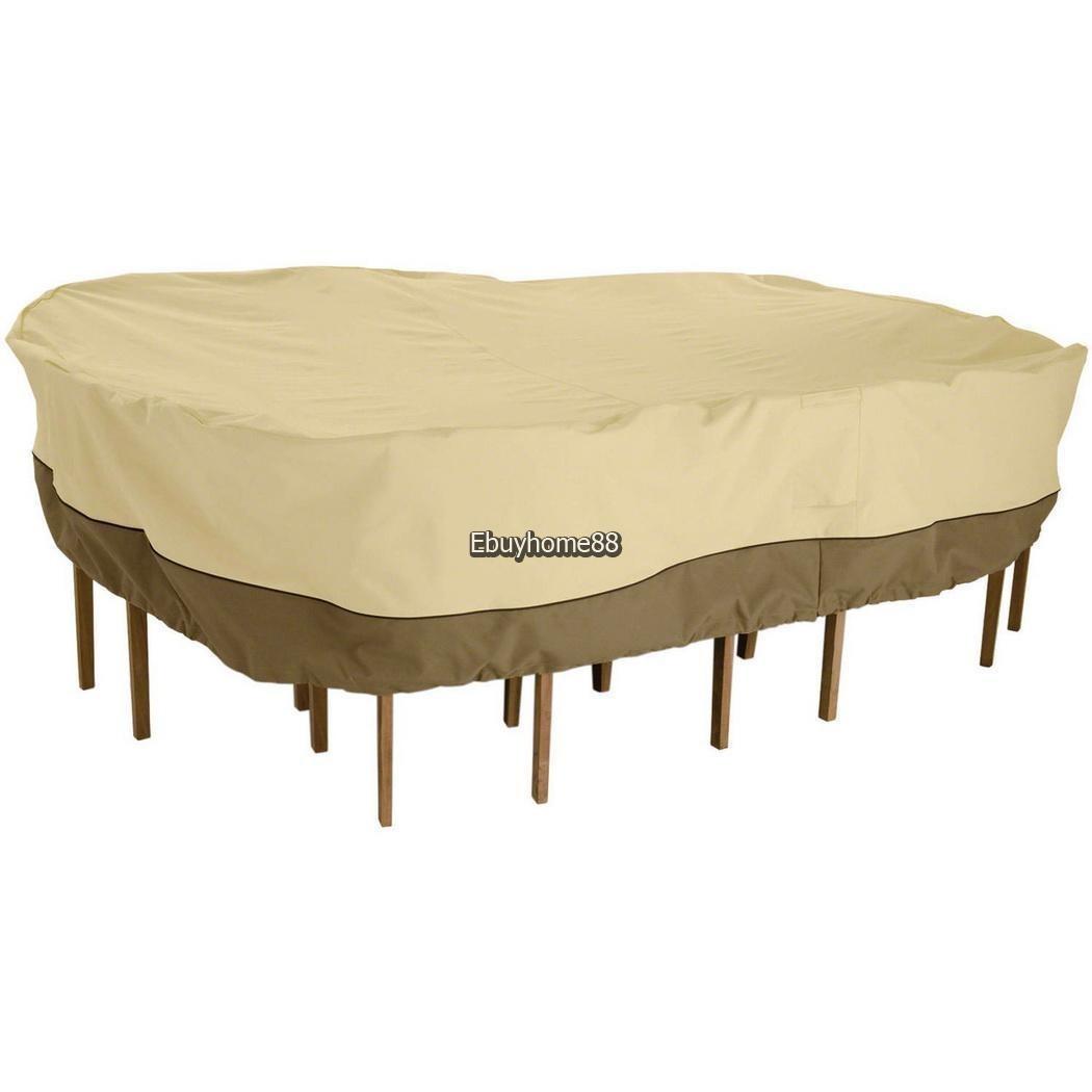 Image of: Mesa Y Silla Muebles Cubren Impermeable Proteccion Exterior 356 990 En Mercado Libre