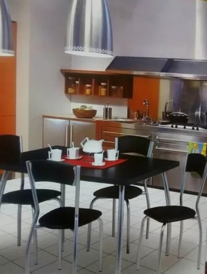 Mesa Y Sillas. Cocina-comedor. Redondas Y Rectangular. Ambar ...