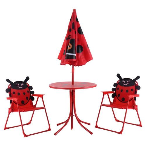 Mesa y sillas de ni os para patio jardin catarina for Mesa y sillas plastico jardin