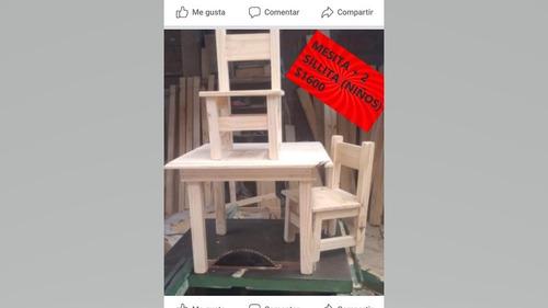 mesa y sillas directos fabrica