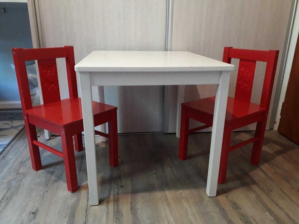 Mesa Y Sillas Infantiles Ikea