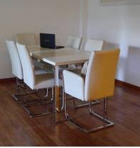 mesa y sillas living comedor simet sinuso impecable la plata