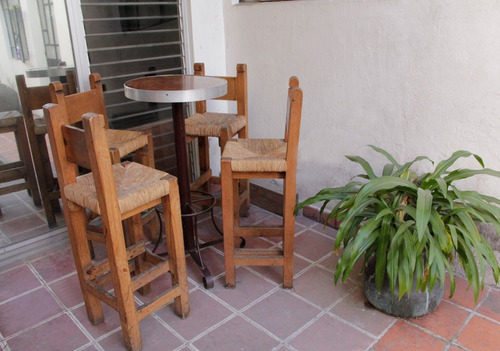 mesa y sillas para bar periqueras en mayoreo