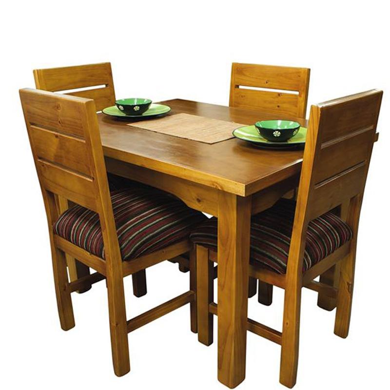 Silla para cocina muebles blancos con iluminacin con mesa for Juego de mesa y sillas para cocina