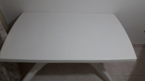 mesa/comedor rimax provenzal blanca