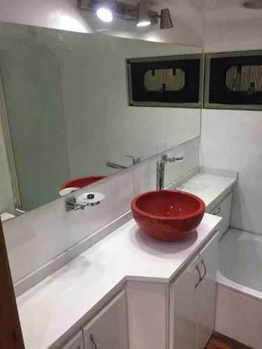 mesada de cocinas y baños tresol/corian/silestone