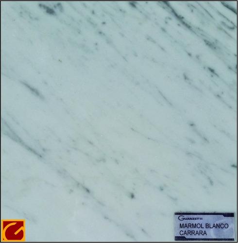 mesada de mármol blanco carrara x m2 unicamente  la plata