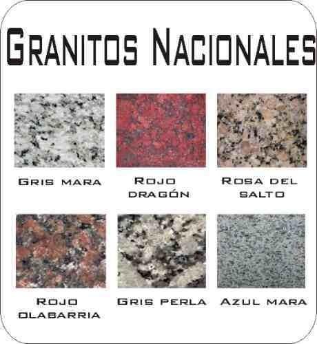 mesada de marmol granito
