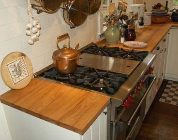 Barras de madera para cocina fotografa de cocina en for Barras de madera para cocina